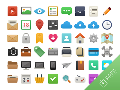Flat Vector Icons