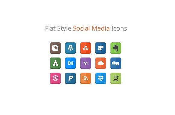 30 Social Media Icons