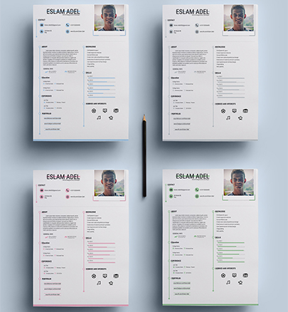 Resume Template – MarketMe.fr