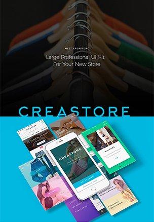 Creastore UI kit – Market-Me.fr