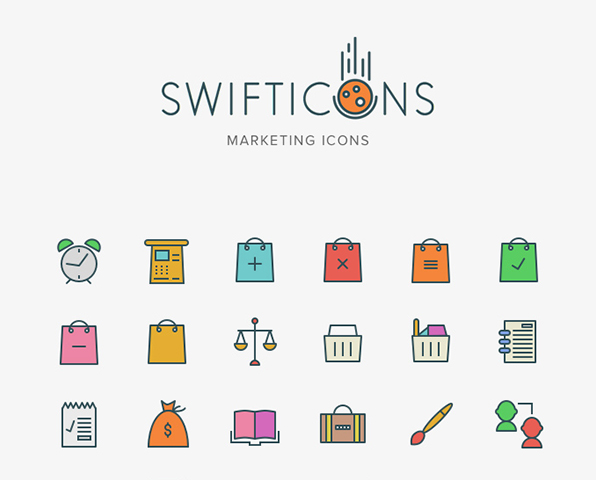 104×3 Marketing Swifticons Set — download free icons by PixelBuddha