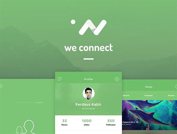 Mobile App Concept Designed | Free App UI – PSDboom